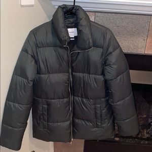 Old Navy puffy down coat